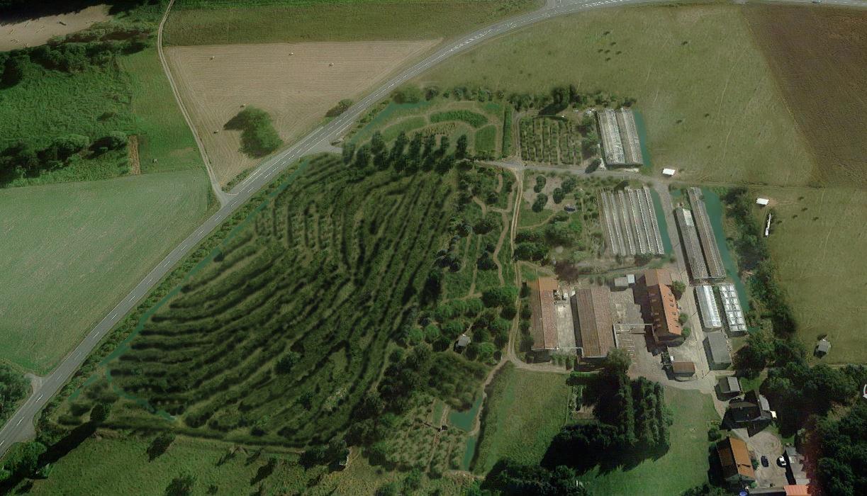 Leckwitz-Luftbild